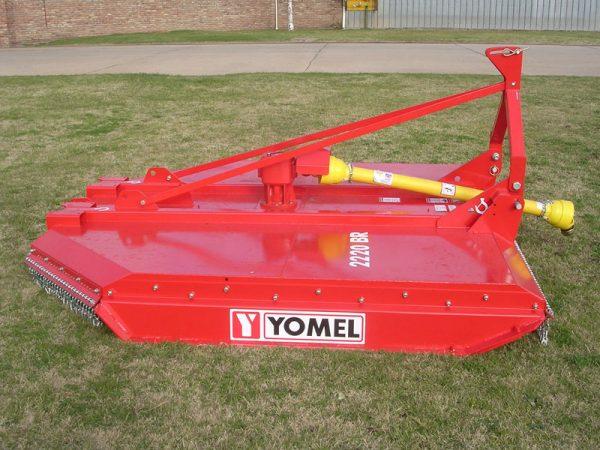 Desmalezadora Yomel línea reforzada 2210 BRD de 2.20 m.