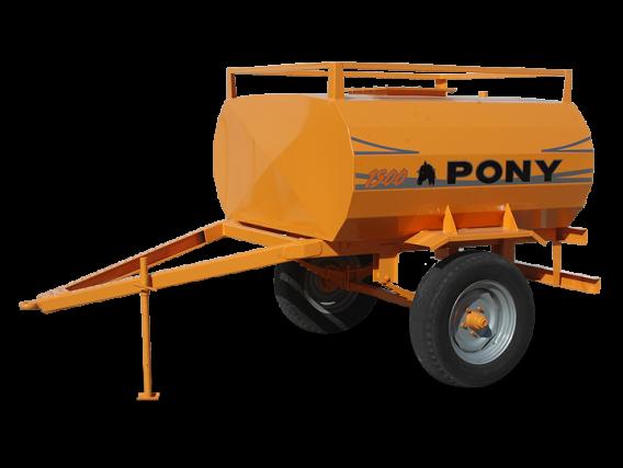 Acoplado tanque para combustible Pony