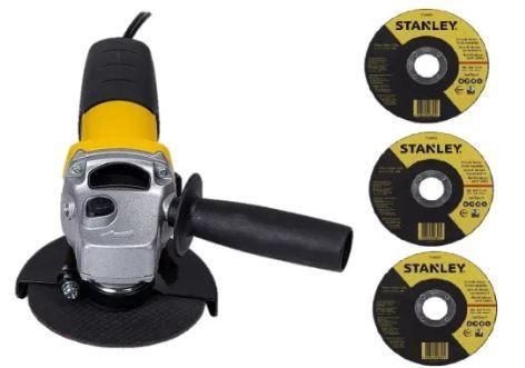 Amoladora angular Stanley 710W + discos