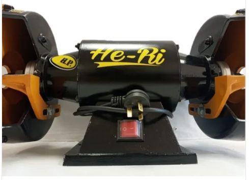 Amoladora de banco He-Ri 1 hp.