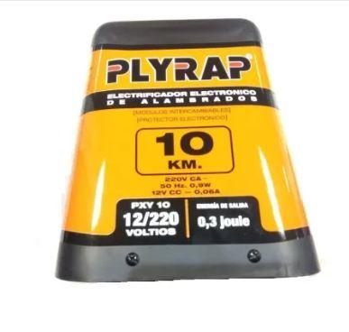 Boyero electrificador de alambrados Plyrap 10km + accesorios