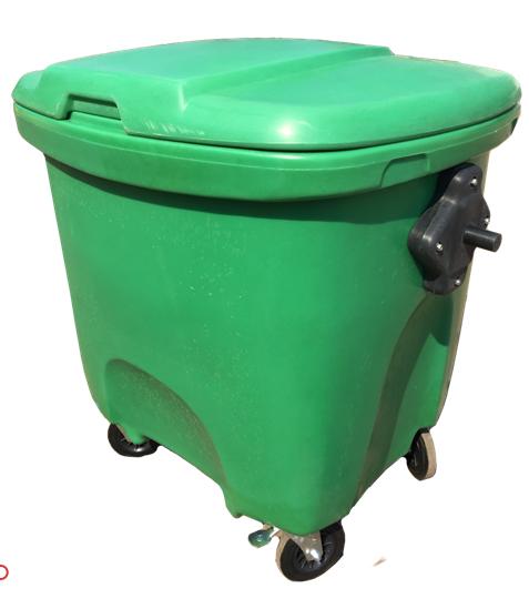 Contenedores de basura Titanium carga trasera