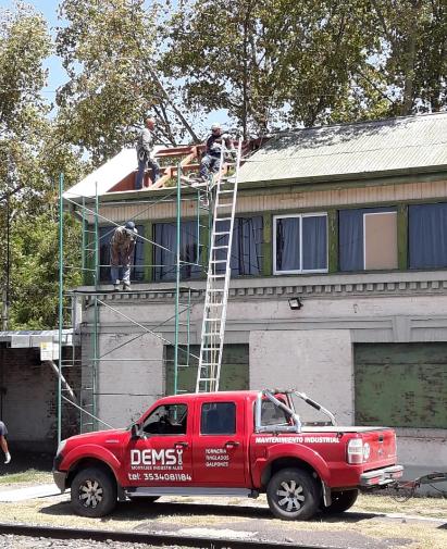Construcción y montaje de techos