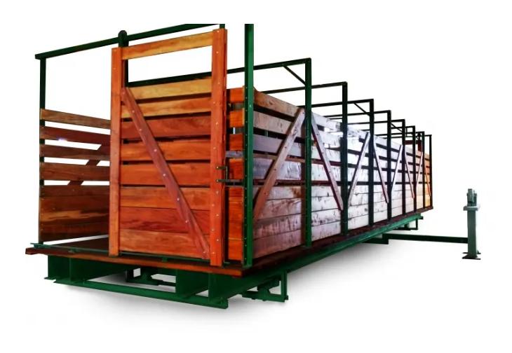 Báscula para hacienda Básculas Centro 16000 kg