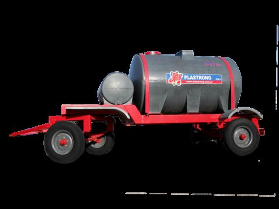 Chasis con tanque Plastrong de 7000 lts.