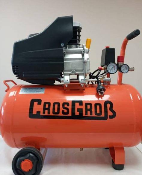 Compresor de aire Crosgrob 2.5 hp. 50 lts.