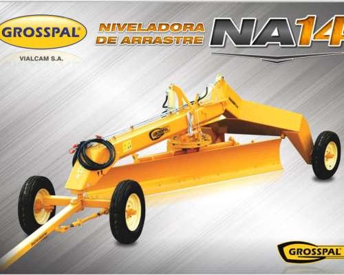 Niveladora de arrastre Grosspal NA 14.