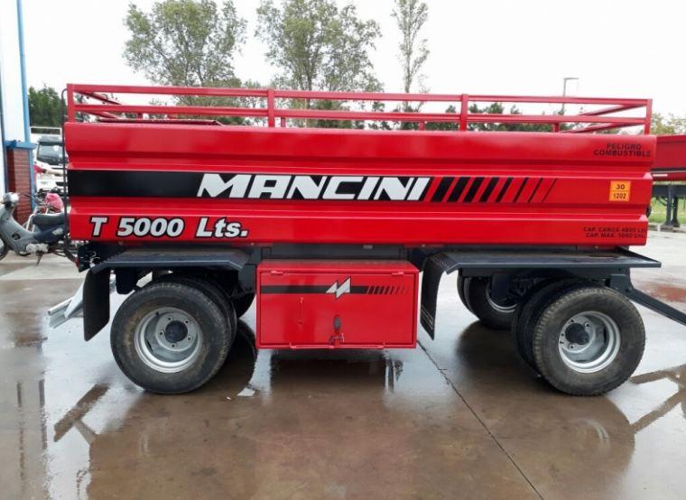 Acoplado tanque Mancini T-50 5.000 Lts.