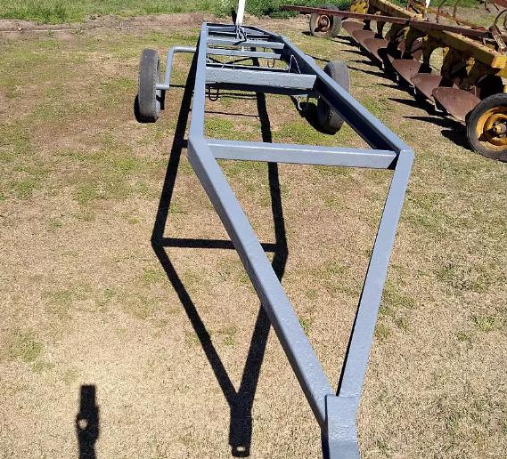 Carro hidráulico de 8 m.